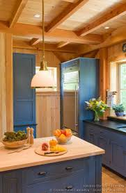 a frame kitchen ideas kitchen idea of the day rustic kitchen with blue cabinets by