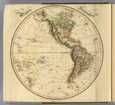 Blank Map Of Western Hemisphere by Western Hemisphere David Rumsey Historical Map Collection