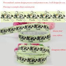 custom grosgrain ribbon 10 sizes width heat transfer printed grosgrain ribbon custom design