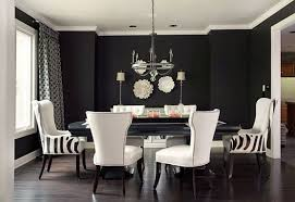 Black Formal Dining Room Sets Formal Dining Room Ideas With Black Wall Color And Classic Black