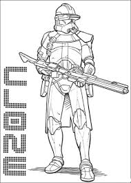 Star Wars Clone Wars Coloring Pages Funycoloring Wars Clone Coloring Pages