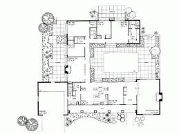 Courtyard Plans House Design Courtyard Middle Planning Houses House Plans 24094