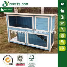 Rabbit Hutch Ramp Dfpets Dfr021bw Blue Rabbit Hutch With With Ramp Buy Blue Rabbit