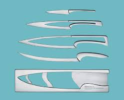 designer kitchen knives deglon meeting kitchen knife set by schmallenbach tuvie