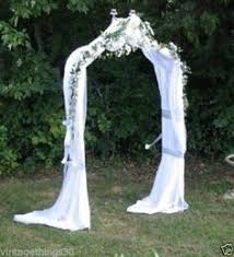 Wedding Arches Ebay White Metal Wedding Arch Indoor Outdoor 7ft Tall X 4ft Wide Ebay