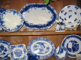 collection of flow blue china theantiquemarket