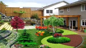 texas landscaping ideas patio pretty sloped backyard design ideas sloping hill landscape