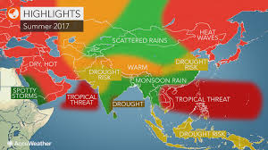 Central And Northern Asia Map by 2017 Asia Summer Forecast Heat To Roast Northeastern China Japan