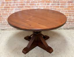 round oak end table 48 inch round oak table with phoenix pedestal lake and mountain home