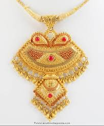 necklace pendant designs gold images Gold pendant design from senthil murugan jewellery south india jpg