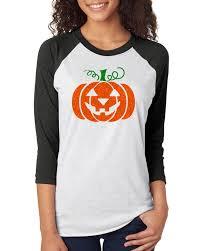 glitter jack o u0027 lantern pumpkin halloween costume womens raglan