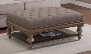 Overstock Ottomans Elemants Rubbed Medium Brown Wood Ottoman 287 99 Overstock