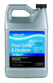 aqua mix floor shine and hardener gallon laminate floor