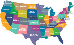 Us State Abbreviations Map What Are The Farthest Points In The U S