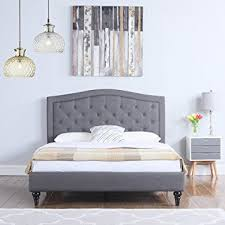 Upholstered Bed Frame Cole California by Cole Midnight Blue Fabric Bed Frame With Sound System And Intended