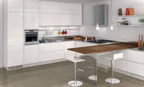kitchen astonishing u shape white kitchen decoration using