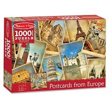 picture postcards doug 1 000pc postcards from europe landmarks