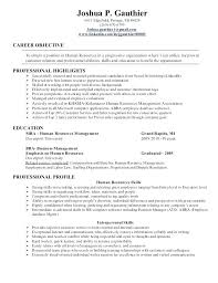 human resources resume exles human resource management resume human resource director resume
