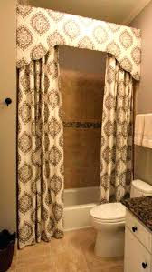 Bathroom Curtain Ideas For Windows Curtain Valances Ideas Valance Curtain Ideas Bathroom Valance