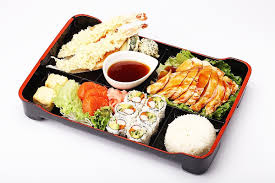 cuisine bento take out deluxe bento box york kiku japanese cuisine