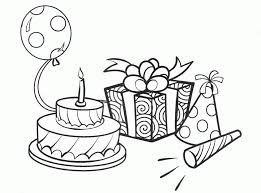 birthday coloring pages coloring