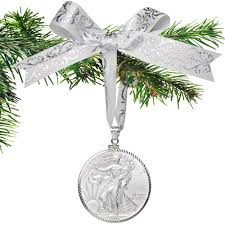 buy 2017 american silver eagle coin ornament with white
