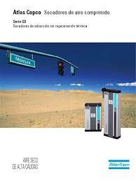 secador de aire serie cd25 atlas copco