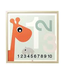Poster Kinderzimmer Done By Deer Kinderzimmer Poster 123 Puenktchen