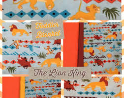 lion king wrapping paper lion king blanket etsy