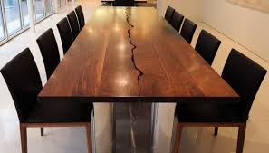 Reclaimed Wood Dining Room Furniture Large Wood Dining Room Table Beauteous Decor Dining Room