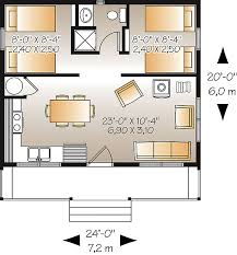 The House Plans Here Is The Floor Plan For The Great Escape 480 Sq Ft Small