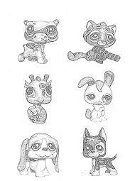 17 littlest pet shop images coloring books