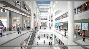 construction begins on massive gallery mall project curbed philly