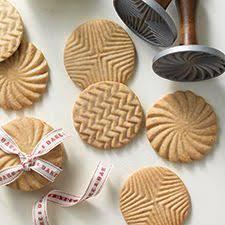 vintage rycraft cookie stamp flower design