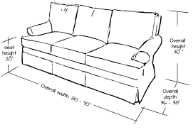 standard sofa size inches standard sofa dimensions in inches okaycreations net