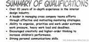 resume summary of qualification exles resume qualifications exles resume summary of qualifications