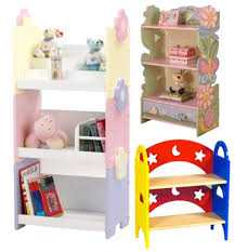 Up Decorations Furniture Assorted Color Floral Wooden Graded Bookshelves And