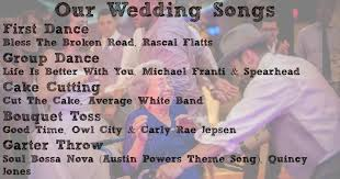 list of wedding cake cutting songs totally unexpected cake