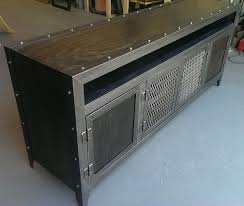 custom made metal storage cabinets custom tv stands custommade com modern metal media stand prepare 15