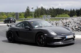 porsche gtr 4 porsche cayman gt4 spied at the nurburgring