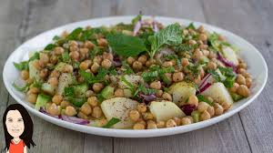 mediterranean style potato salad no oil no fat full of