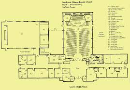 Church Fellowship Hall Floor Plans Swcbc Phase I Church Building Floor Plan