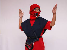 ninja costume for halloween how to dress like a ninja for halloween 12 steps with pictures