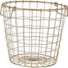 tk maxx home decor small gold tone wavy wire basket storage home accessories