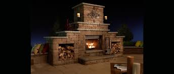 grand fireplace kit rochester concrete products
