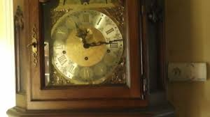 Hermle Grandfather Clock A Look At The Large Grandfather Clock In Proper Hd And Stereo