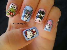 hello kitty nails gone wild 12