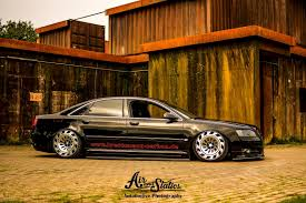 audi a8 d3 certainly looks different with custom wheels air