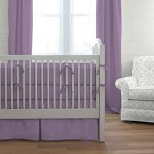 Solid Pink Crib Bedding Solid Aubergine Purple Crib Bedding Carousel Designs