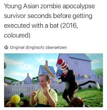 Cat In The Hat Meme - young asian zombie apocalypse the cat in the hat know your meme